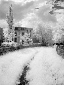 2005-06-07_05106 Bächlein in Leipzig (mehr Infrarot Bilder)small river in Leipzig (more infrared pictures)