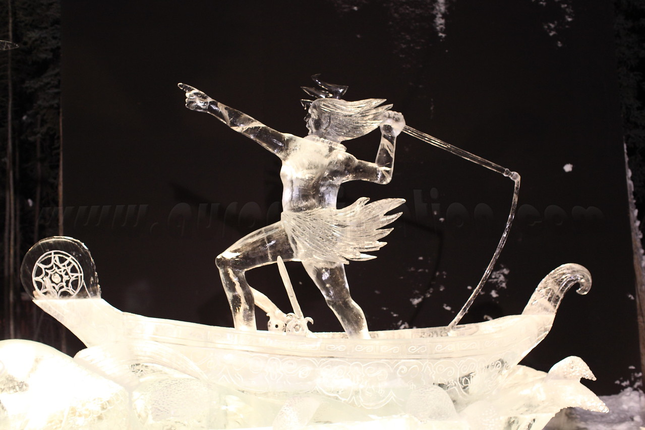 Ice sculpture captured on March 4, 2011 at the World Ice Art Championships 2011 in Fairbanks, Alaska<br /> <br /> Canon EOS 5D Mark II with Canon EF 50mm f/1.2L lens