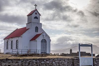 Snæfellsnes Peninsula family church