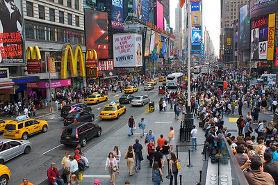 I had a 12 hour layover at JFK. So I took the LIR to Penn central and walk around Midtown. This is Times Square.