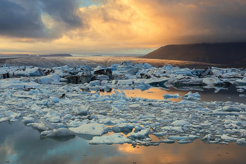 Ice 125 Jokulsarlon Sunset