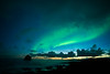 Aurora over Valahnúkamöl, Iceland