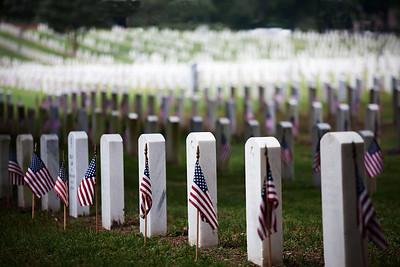 Barrancas National Cemetery on N.A.S. Pensacola.