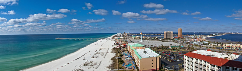 Pensacola Beach Day Pano