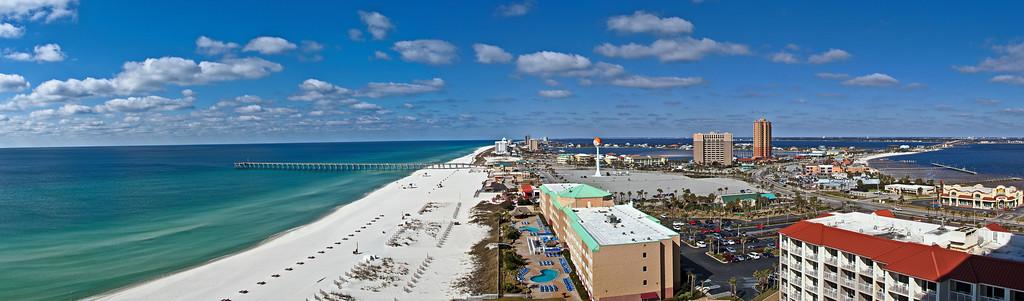 Pensacola Beach Day Pano