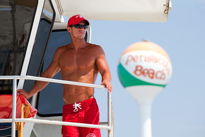 Lifeguard on Pensacola Beach