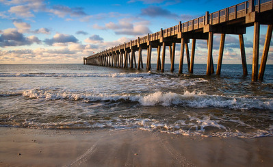 The Pensacola Beach Pier