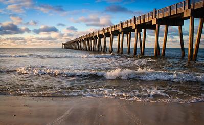 The Pensacola Beach Pier