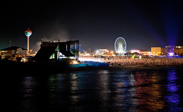 DeLuna Fest at Night