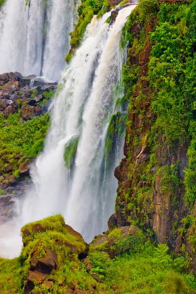 IGUAZU FALLS, Argentina 127.   One of many smaller side waterfalls.
