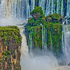 IGUAZU FALLS, Argentina 105.   One of many smaller side waterfalls.