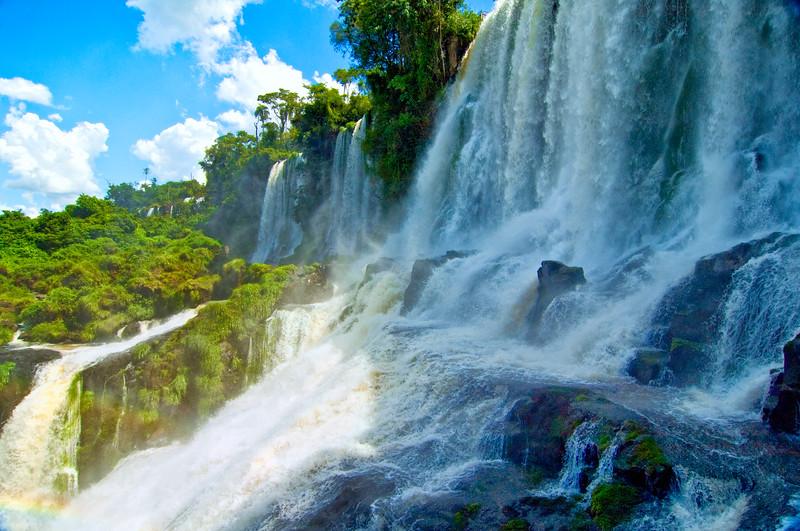 IGUAZU FALLS, Argentina 109.  Lower loop