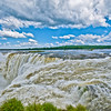 IGUAZU FALLS, Argentina 103 .  Devil's Throat Thundering sound of water crashing over Devil's Throat.