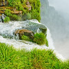 IGUAZU FALLS, Argentina 123.  One of many  falls down river from the Devil's Throat Falls.