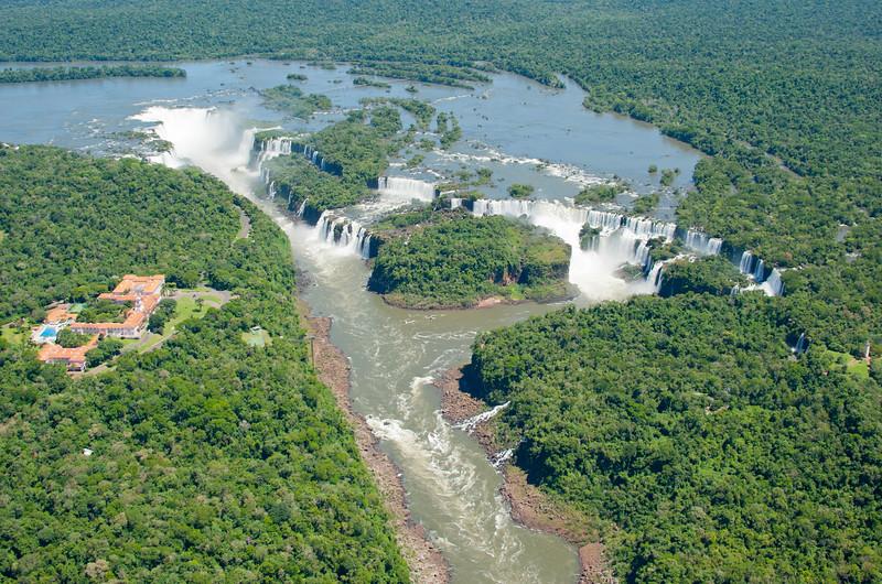 IGU 113.  Iguazu Falls, Brazil, Iguazu River, Devil's Throat , Argentina