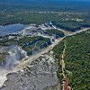 IGU 104.   Iguazu Falls, Brazil, Iguazu River, Devil's Throat , Argentina