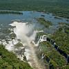 IIGU 110.  guazu Falls, Brazil, Iguazu River, Devil's Throat , Argentina