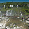 IGU 108.  Iguazu Falls, Brazil, Iguazu River, Devil's Throat , Argentina