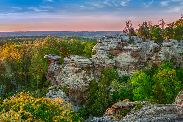 Garden of the Gods - Shawnee National Forest
