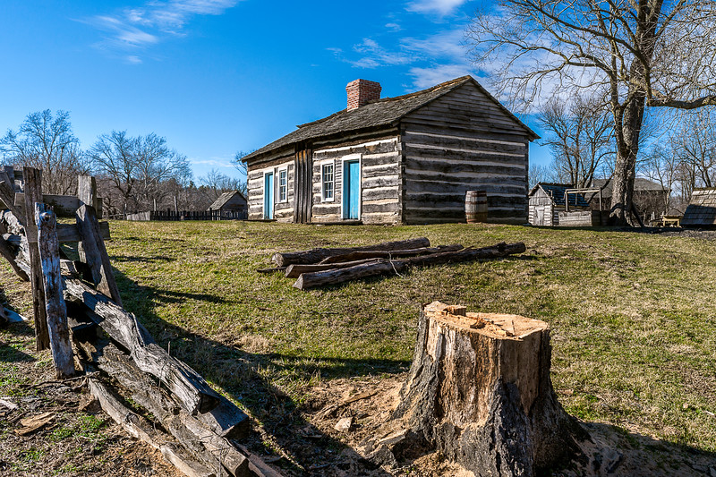 Lincoln Log Cabin State Historic Site