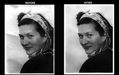 Example of Photo Restoration