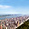 360 panoramic image of New York City sky line