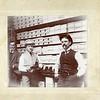 Men in a shoe store, ca. 1890.  MP AP
