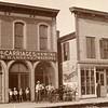 Main street, Morrison, Illinois, ca. 1890.  Ptgr:  Broadhead.  Note circus posters.  CC