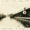 Flood in Daytona, FL, 1924, one of three.  RPPC