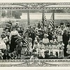 Children on a picnic from the St. Mary's Orphanage, Lowell, MA, ca. 1910.  Ptgrs:  Chuirchill & Katell.  MP SP