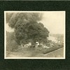 Burning homes and farm buildings, ca. 1910.  MP SP