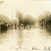 Flood in Dayona, FL., 1924, one of three.   RPPC