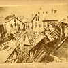 Aftermath of the Johnstown flood, May, 1889.  MP AP