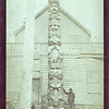 Totem pole, Hawken, Alaska, ca. 1895.  Ptgr:  Edward de Groff, Sitka, AK.  CC AP