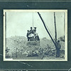 Couples posing in a quarry derrick, ca. 1885.  MP AP