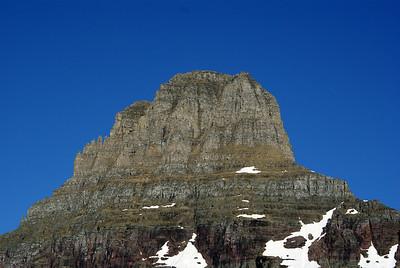 Mount Renolds Glacier National Park
