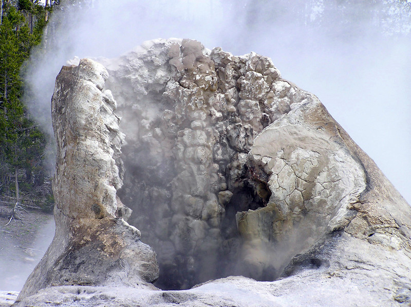 Castle Geyser<br /> Yellowstone