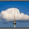 Sky candy floss<br /> TV tower, Berlin