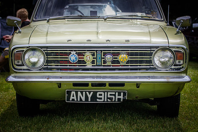 Ford Cortina, first registered 19 June 1970