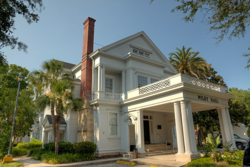 Wiley Hall at Flagler College