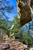 Sky Bridge Natural Arch - Red River Gorge - Daniel Boone National Forest - Kentucky