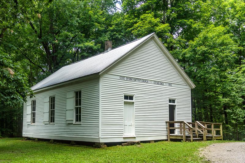 Good Springs Baptist Church - Mammoth Cave National Park - Cave City, Kentucky