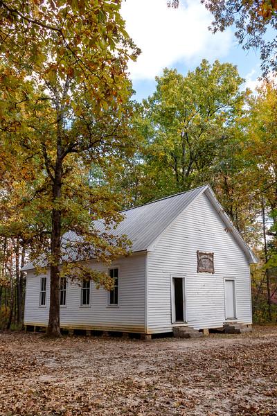 Mammoth Cave Baptist Church - Mammoth Cave National Park - Kentucky