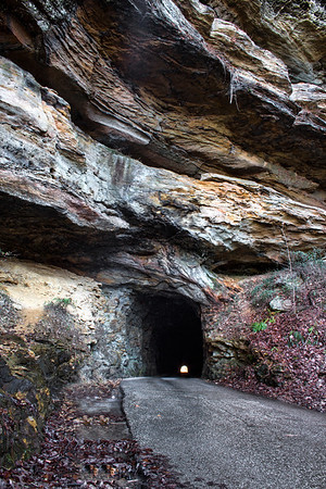 Nada Tunnel - Red River Gorge -Daniel Boone National Forest - Kentucky