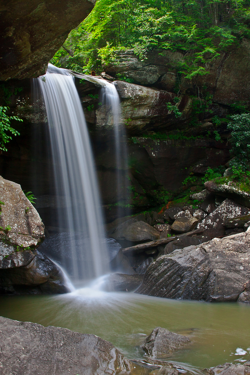 Eagle Falls - Cumberland Falls State Park - Daniel Boone National Forest - Kentucky