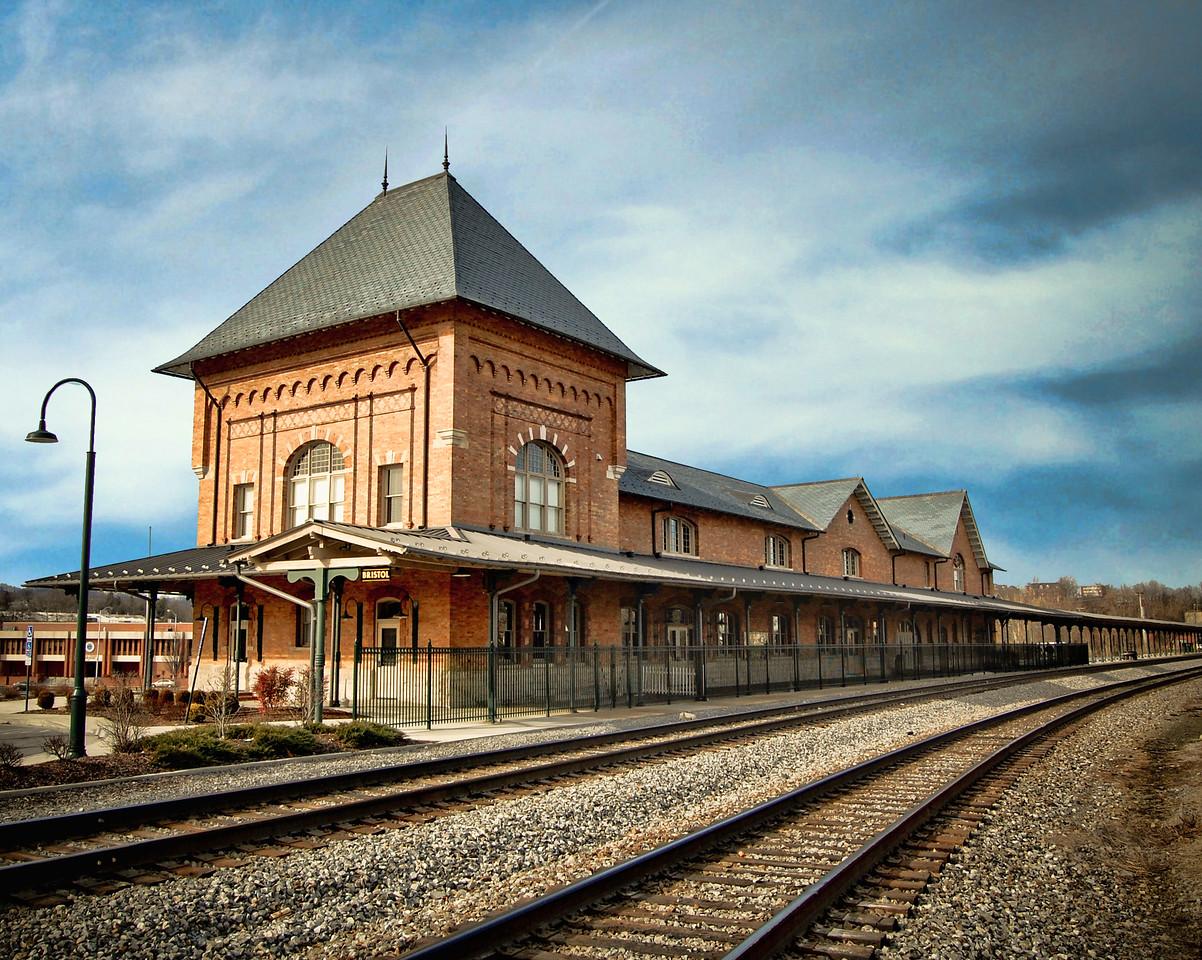 Trainstation in Bristol, Tn