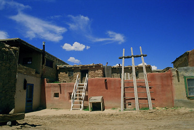 "Acoma Pueblo, New Mexico.  ""The Sky City""."