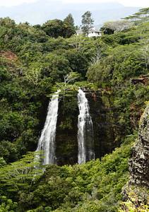 Waterfalls in Kauai