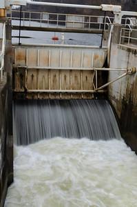 Dixboro Dam in operation