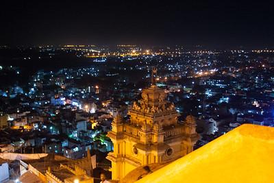 Tiruchirappalli at Night